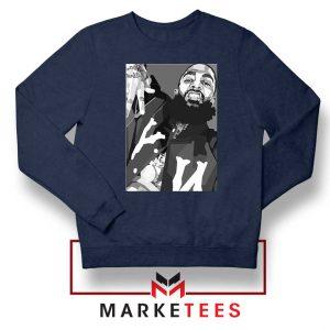 Nipsey Hussle Hip Hop Navy Blue Sweatshirt