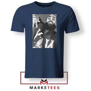 Nipsey Hussle Hip Hop Navy Blue Tshirts