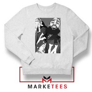 Nipsey Hussle Hip Hop White Sweatshirt