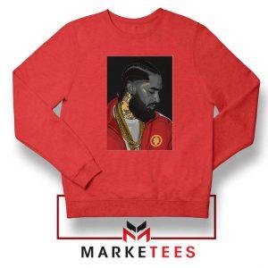Nipsey Hussle Red Sweatshirt