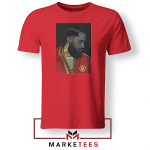 Nipsey Hussle Red Tshirt