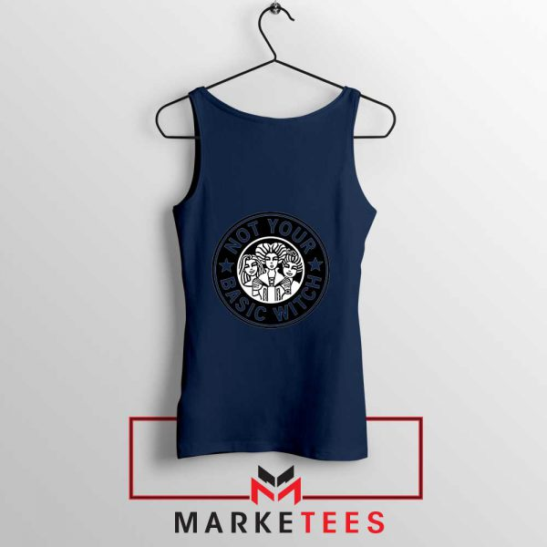 Not Your Basic Witch Navy Blue Tank Top