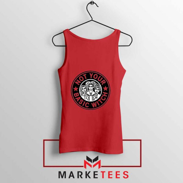 Not Your Basic Witch Red Tank Top