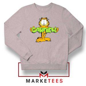 Orange Cat Sport Grey Sweatshirt