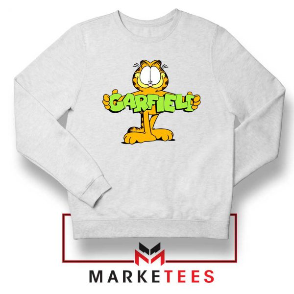 Orange Cat Sweatshirt