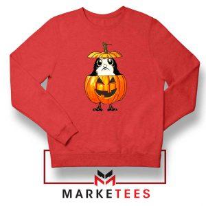 Porg Pumpkin Red Sweatshirt