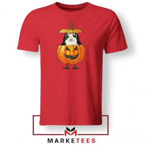 Porg Pumpkin Red Tshirt