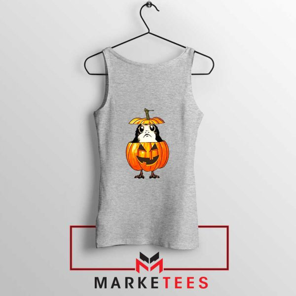 Porg Pumpkin Sport Grey Tank Top