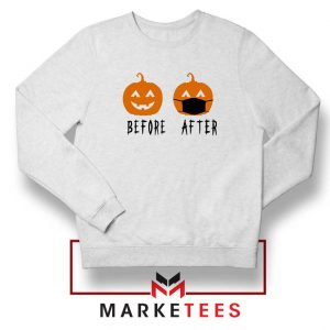 Pumpkin Before After Sweatshirt
