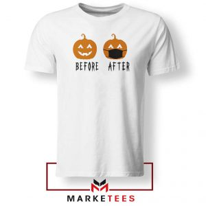 Pumpkin Before After Tshirt