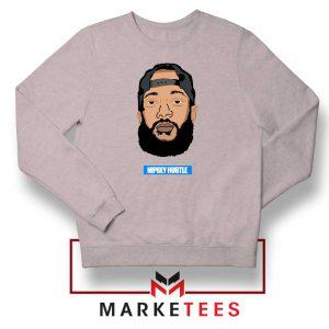 RIP NIpsey Hustle Sport Grey Sweatshirt