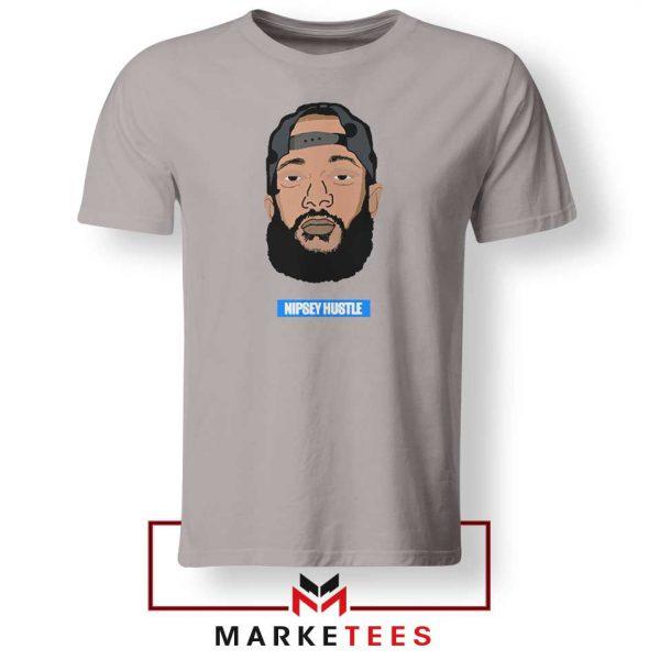 RIP NIpsey Hustle Sport Grey Tshirt