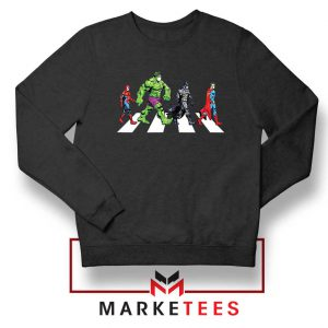 Superheroes Corona Virus Sweatshirt