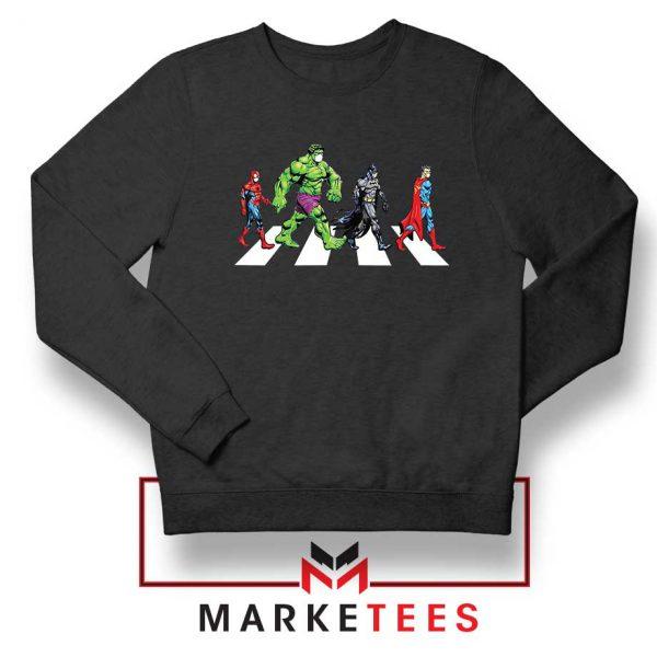 Superheroes Corona Virus Sweatshirt