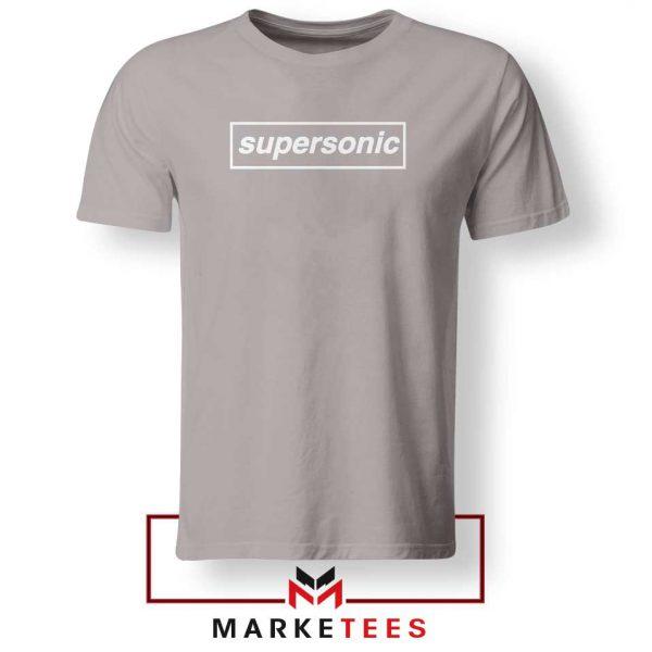 Supersonic Sport Grey Tshirt