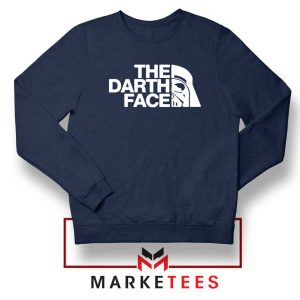 The Darth Face Navy Blue Sweatshirt