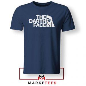 The Darth Face Navy Blue Tshirt