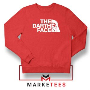 The Darth Face Red Sweatshirt