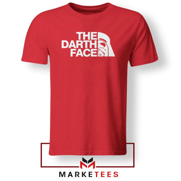 The Darth Face Red Tshirt