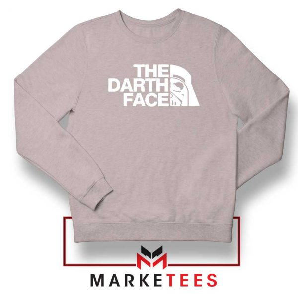 The Darth Face Sport Grey Sweatshirt