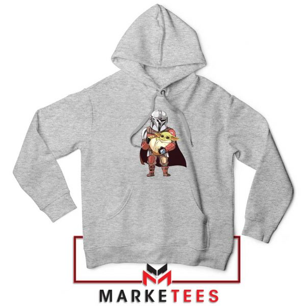 The Mandalorian Lovely Yoda Sport Grey Hoodie