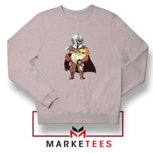 The Mandalorian Lovely Yoda Sport Grey Sweatshirt