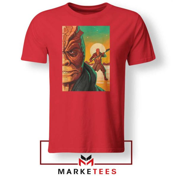 Trandoshans Star Wars Red Tshirt