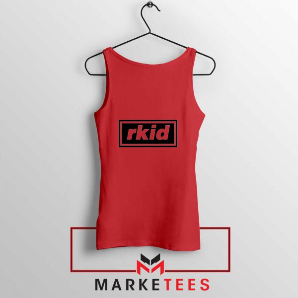 rkid Oasis Tank Top Rock Band Red Tank Top S-3XL