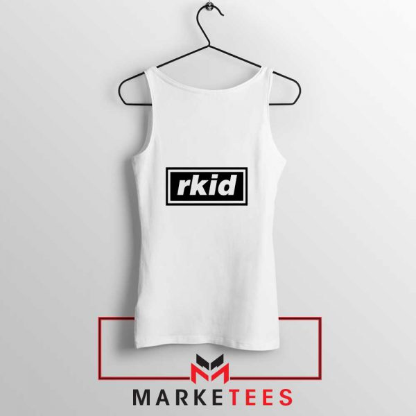 rkid Oasis Tank Top Rock Band White Tank Top S-3XL