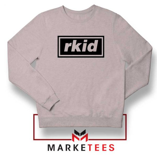 rkid-oasis-sweatshirt- sport grey rock-band