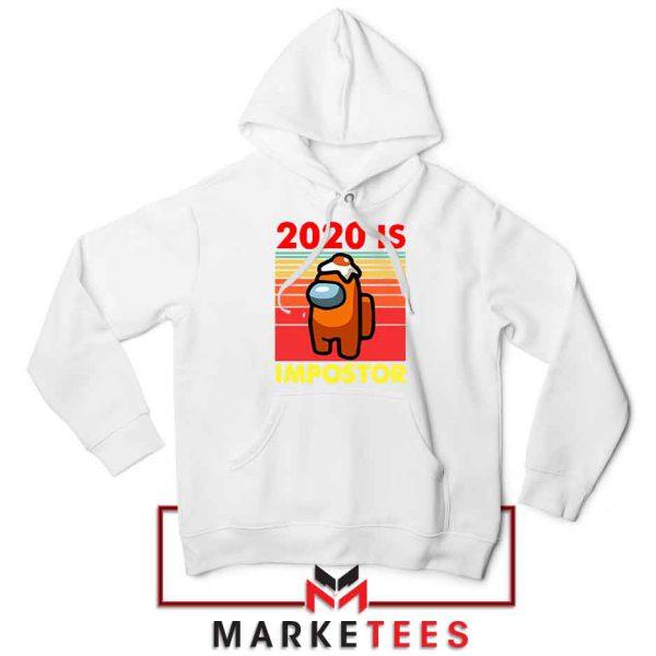 2020 Is Impostor Red Hoodie