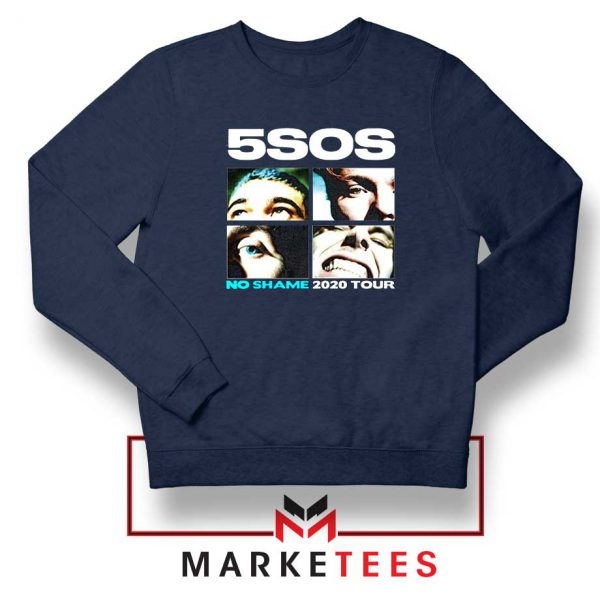 5SOS No Shame 2020 Tour Navy Blue Sweatshirt