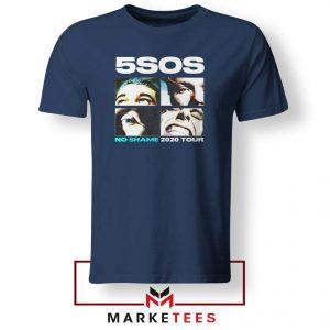 5SOS No Shame 2020 Tour Navy Blue Tshirt