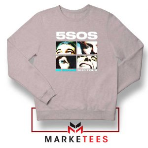 5SOS No Shame 2020 Tour Sport Grey Sweatshirt