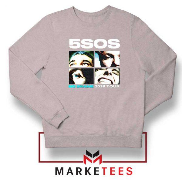5SOS No Shame 2020 Tour Sport Grey Sweatshirt