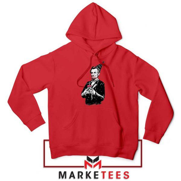 Abraham Lincoln Birthday Red Hoodie