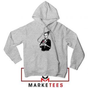 Abraham Lincoln Birthday Sport Grey Hoodie