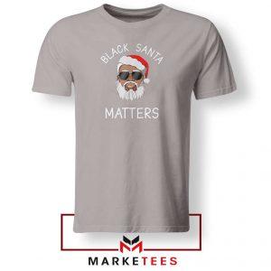 Afro Americans Santa Sport Grey Tshirt