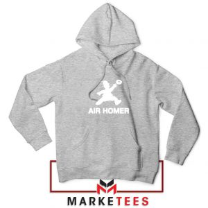 Air Homer Simpson Sport Grey Hoodie