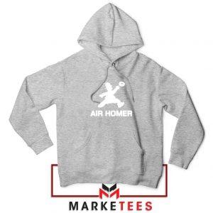 Air Homer Simpson Sport Grey Hoodie