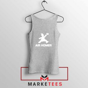 Air Homer Simpson Sport Grey Tank Top