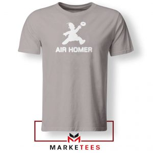Air Homer Simpson Sport Grey Tshirt