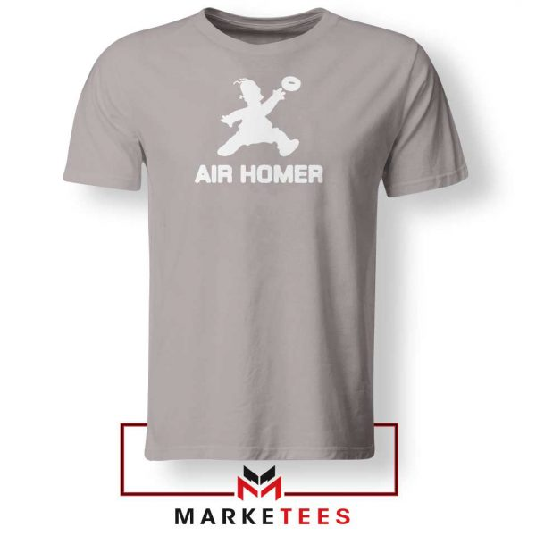 Air Homer Simpson Sport Grey Tshirt