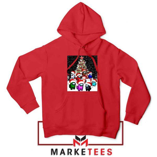 Among Us Christmas Red Hoodie