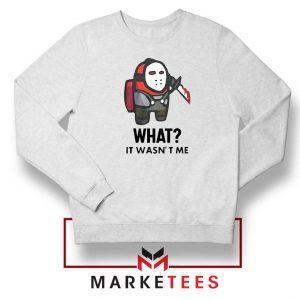Among Us Jason Voorhees Sweatshirt