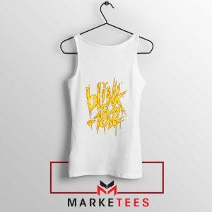 Blink 182 Rock Music White Tank Top