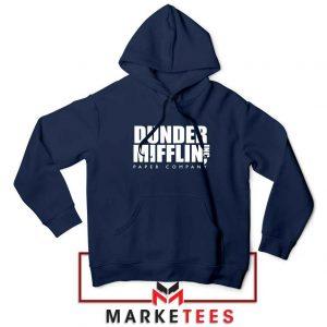 Dunder Mifflin Navy Blue Hoodie