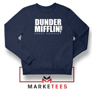 Dunder Mifflin Navy Blue Sweatshirt