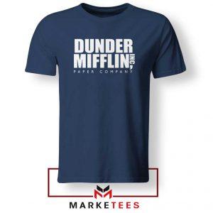 Dunder Mifflin Navy Blue Tshirt