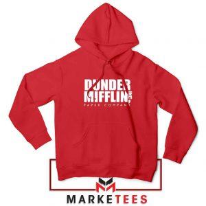 Dunder Mifflin Red Hoodie